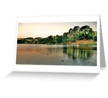 On Golden Pond - Lake Samwell , Beechworth Victoria - The HDR Experience Greeting Card