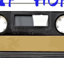 Hip Hop  Cassette tape Sticker