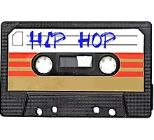 Hip Hop  Cassette tape Photographic Print