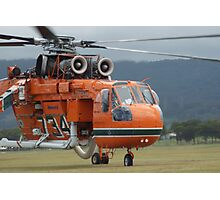 "Skycrane - ""Clancy"" Photographic Print"