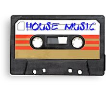 House Music EDM - Cool DJ phone case Canvas Print