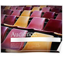 Audience. Poster