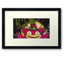 Slowpoke Framed Print