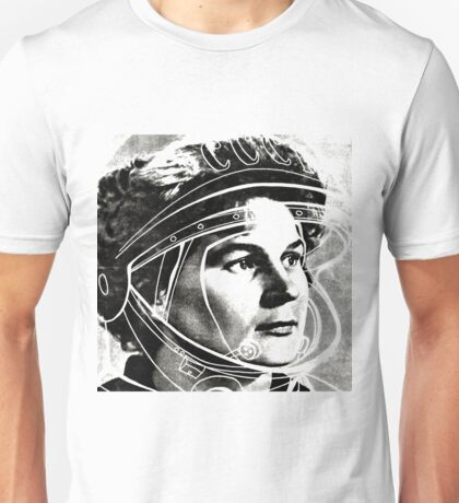 The first female Cosmonaut Unisex T-Shirt