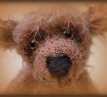 Bear face - Handmade bears from Teddy Bear Orphans by Penny Bonser