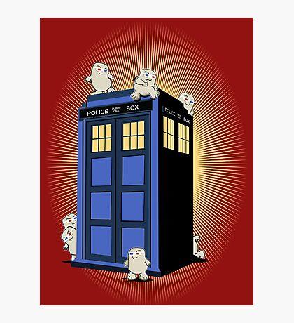 ADIPOSES CONQUERS THE TARDIS  Photographic Print