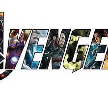 Avengers - Character Logo by jackallum