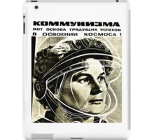 First female Cosmonaut iPad Case/Skin