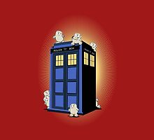ADIPOSES CONQUERS THE TARDIS  by karmadesigner