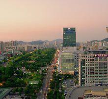 Incheon at Dusk by Saikat Babin Biswas