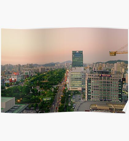 Incheon at Dusk Poster