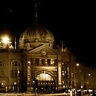 Flinders Street Station by Jazzyjane