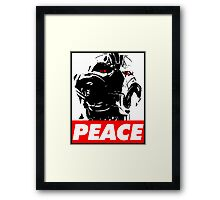 PEACE of Ultron Framed Print