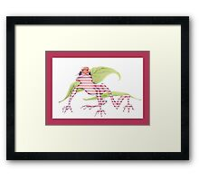 Magicked Frog Framed Print