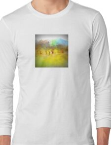 Soft Mornings Landscape Long Sleeve T-Shirt