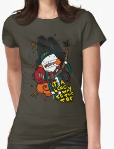 Long Way - Angus Young Tribute Womens Fitted T-Shirt