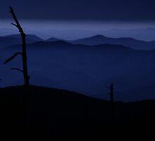 Carolina Mountains at Sunset by efphoto