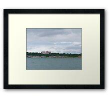 The Montauk Manor Framed Print