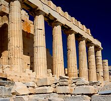 The Parthenon by photosbyflood