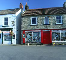 "Aidensfield Store - TV Show ""Heartbeat"" by Bev Pascoe"