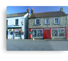 """Aidensfield Store - TV Show """"Heartbeat"""" Metal Print"""