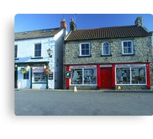 "Aidensfield Store - TV Show ""Heartbeat"" Canvas Print"