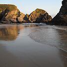 Bedruthan Light - Cornwall by Tina Martin