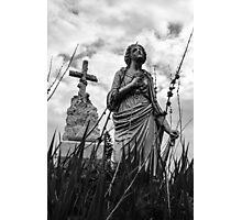 Hail Mary Photographic Print