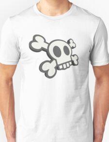 Funky Cartoon Skull & Crossbones T-Shirt