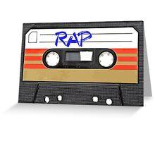 Rap Music - Rapper HIP HOP - MC DJ Greeting Card