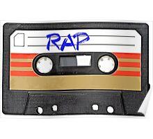 Rap Music - Cassette Tape - MC Poster