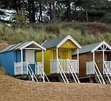 Beach Huts by LydiaBlonde