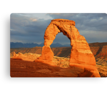 Delicate Arch - The Calm After the Storm Canvas Print