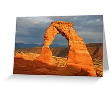 Delicate Arch - The Calm After the Storm Greeting Card