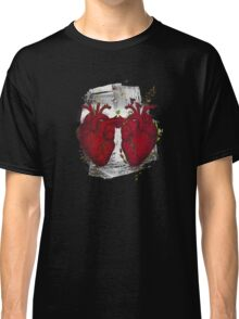 two hearts beating as one Classic T-Shirt