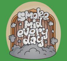 Smoke Mid Every Day Baby Tee