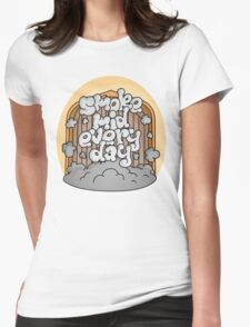 Smoke Mid Every Day Womens Fitted T-Shirt