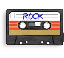 Rock and Roll Music - Cassette Tape - Awesome iphone case Canvas Print