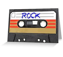 Rock and Roll Music - Cassette Tape - Awesome iphone case Greeting Card