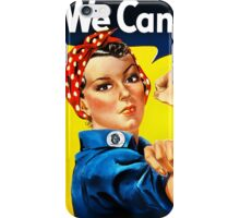 Rosie the Riveter - US World War II Propaganda Poster iPhone Case/Skin
