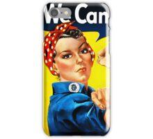 Rosie the Riveter - US World War II Propaganda Poster iPhone Case/Skin