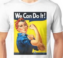 Rosie the Riveter - US World War II Propaganda Poster Unisex T-Shirt