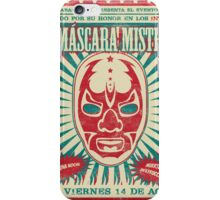 The Mysterious Mask iPhone Case/Skin