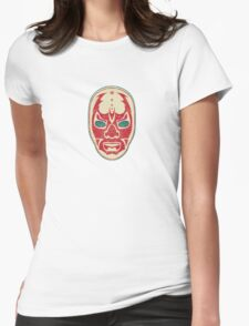 The Mysterious Mask Womens Fitted T-Shirt