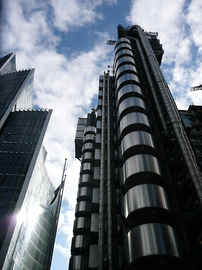 Lloyd's Building by pcimages