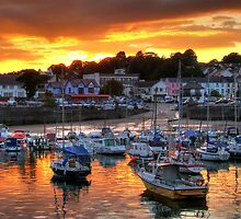 Harbour Sunset by griffin