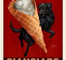 Black Labrador Retriever by OtisNewVintage