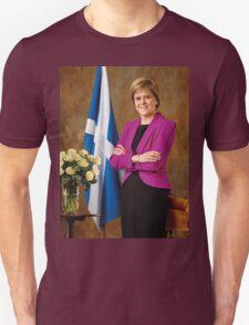 FM Nicola Sturgeon Unisex T-Shirt