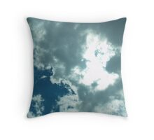 Clouds are forming Throw Pillow