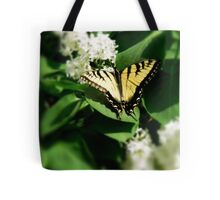 Tiger Swallowtail on Lilacs Tote Bag